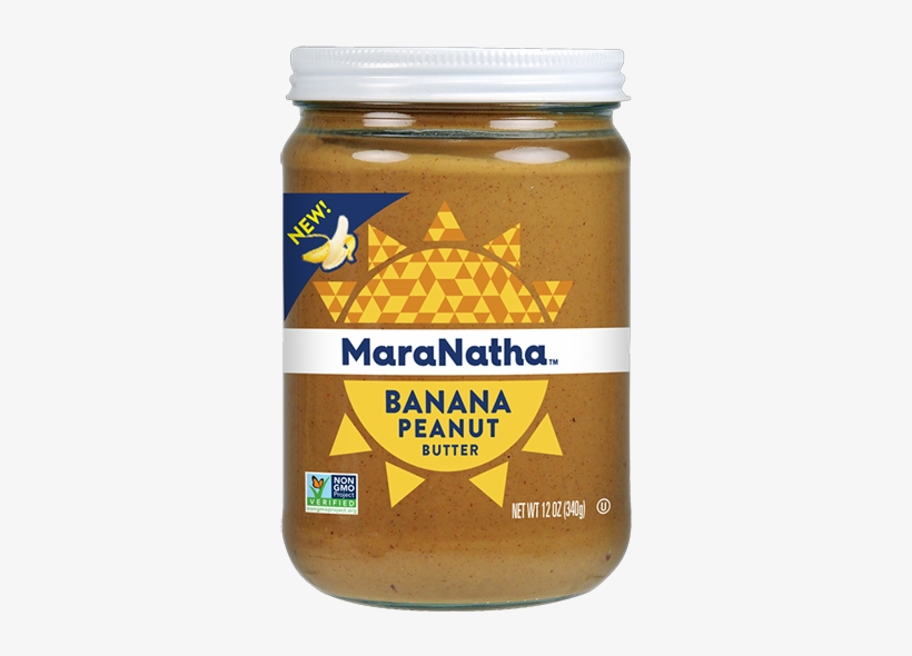 Bananas With Peanut Butter Png - Maranatha Organic Peanut Butter 16oz, transparent png #720260