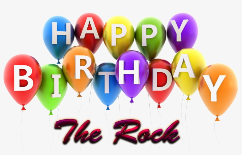 The Rock Happy Birthday Balloons Name Png - Name Mohit Happy Birthday Mohit, transparent png #720398