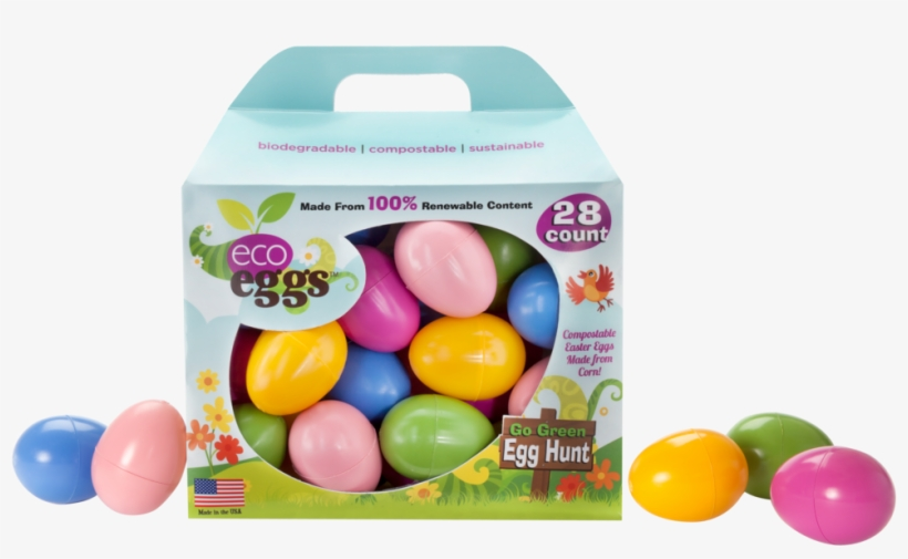 4 28-count Boxes Of Large Eggs - Plastic Easter Eggs - Eco Eggs Easter Eggs - 48 Count, transparent png #720466