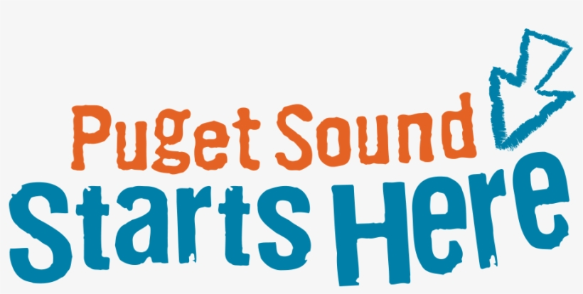 Small - Puget Sound Starts Here Logo, transparent png #722230