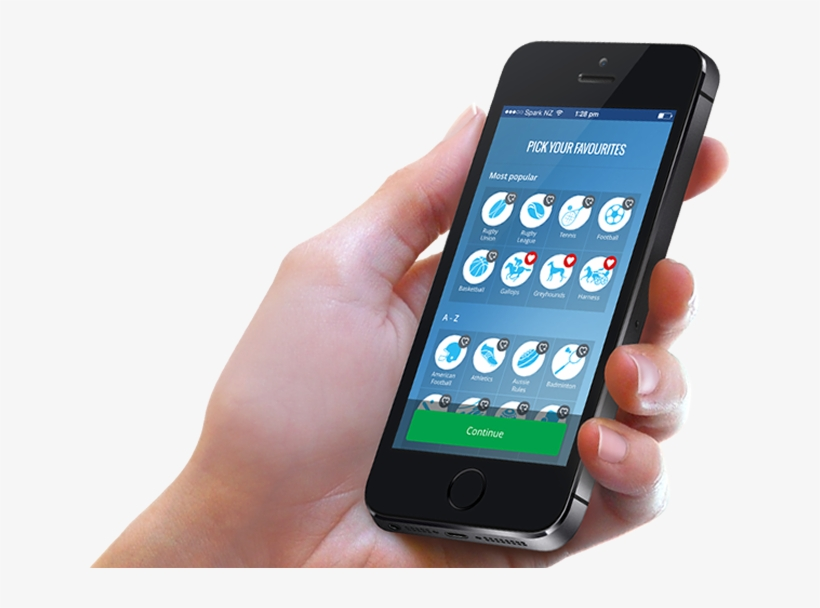 Download Mobile Cell Phone In Hand Png Transparent - Using Mobile Phone Png, transparent png #722351
