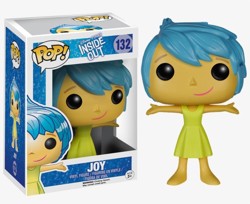 Joy Pop Vinyl Figure - Pop Disney Inside Out, transparent png #724728