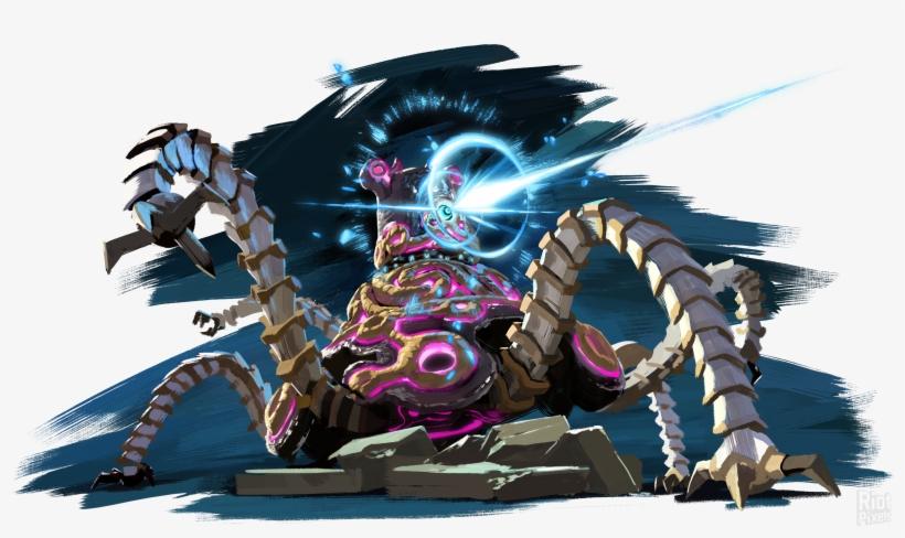 15 June - Legend Of Zelda Breath Of The Wild Calamity Ganon, transparent png #725029