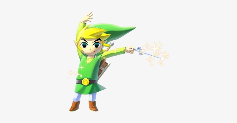 The Legend Of Zelda - Legend Of Zelda The Wind Waker Hd Link, transparent png #725032