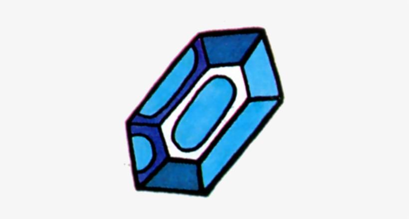 Blue Rupee - Legend Of Zelda Items Png, transparent png #725862