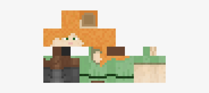 This - Minecraft Alex Skin Download, transparent png #726998
