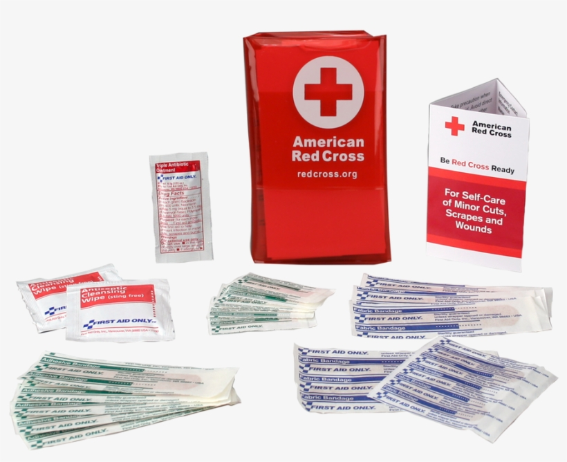 American Red Cross Png Svg Freeuse Library - American Red Cross First Aid Kit, transparent png #727550