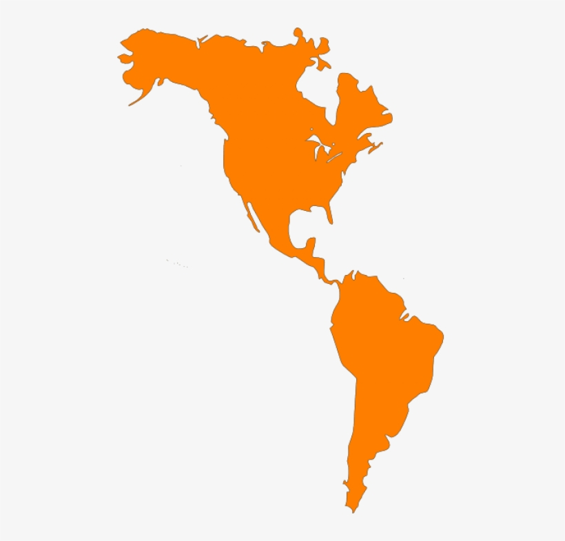 United States Clipart North America - North And South America Map ...