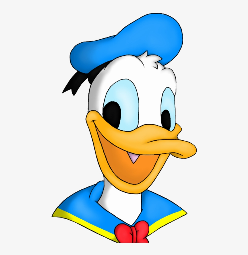 Donald Duck Transparent Images - Donald Duck Face, transparent png #729405