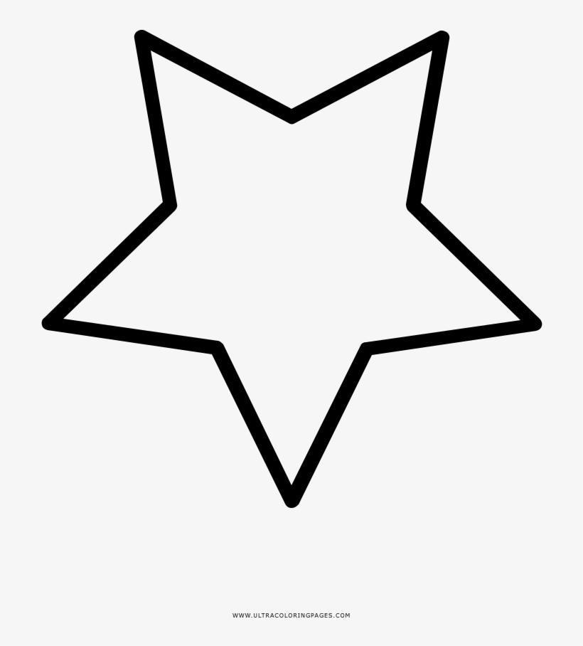 Estrela Desenho Para Colorir Free Transparent Png Download Pngkey