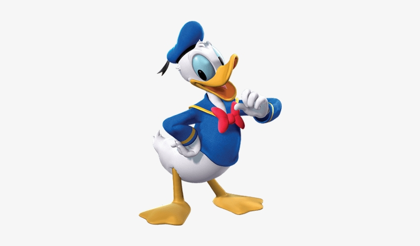Donald Duck It's Me - Mickey Mouse Clubhouse Characters Png, transparent png #730030