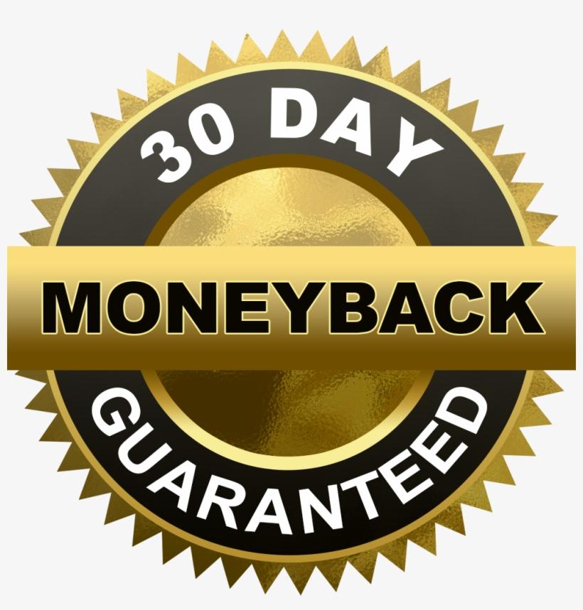 30 Day Money Back Guarantee Cut Out - Money Back Guarantee Seal, transparent png #733830