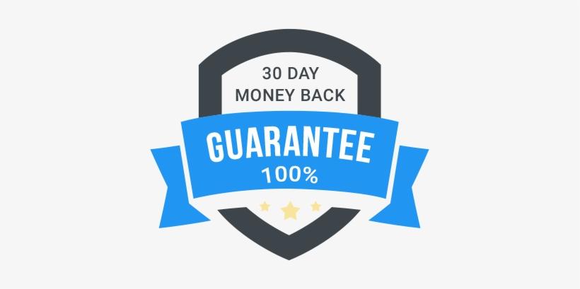 30 Day Money Back Guarantee Transparent Background - 30 Day Money Back Guarantee Png, transparent png #733853