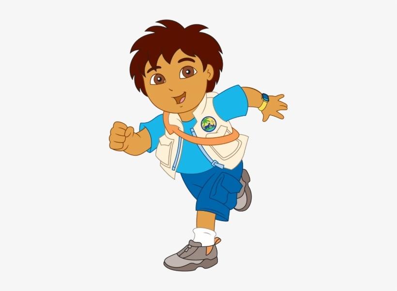 Diego Cartoon Characters Dora The Explorer Png Diego Dora La
