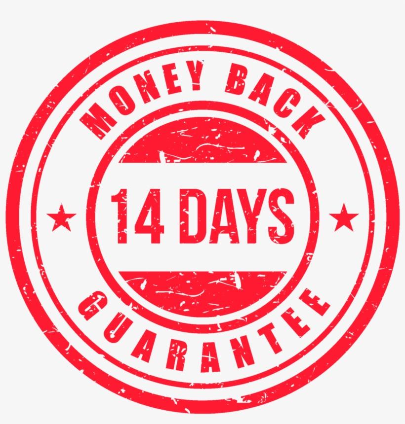 14 Day Money Back Guarantee - 14 Days Money Back Guarantee Png, transparent png #734460