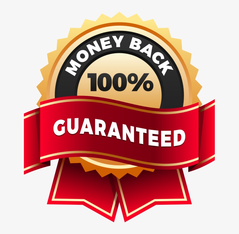 If You Follow All The Exercise And Nutrition Advice - Money Back Guarantee Logo, transparent png #735146