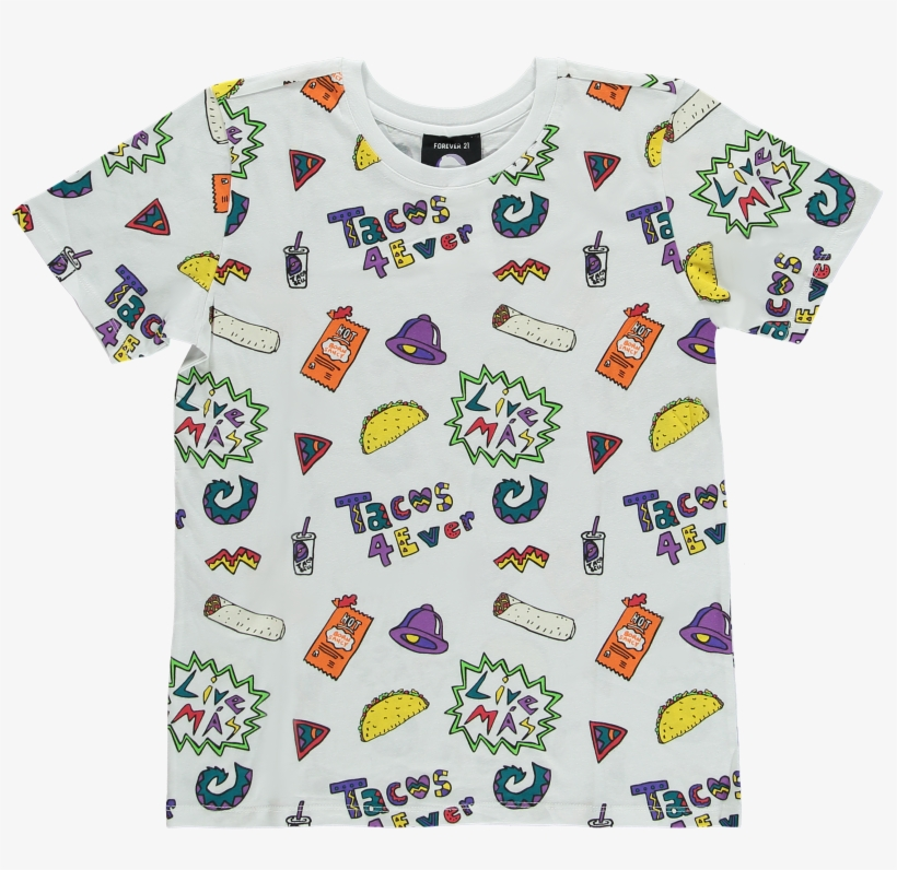 What Do Taco Bell X Forever 21 Clothes Look Like The - Forever 21 Taco Bell Clothes, transparent png #735443
