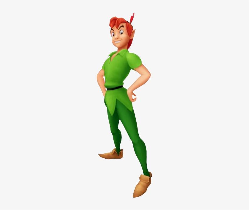 Kingdom Hearts Peter Pan Png - Disney Peter Pan Kingdom Hearts, transparent png #736020