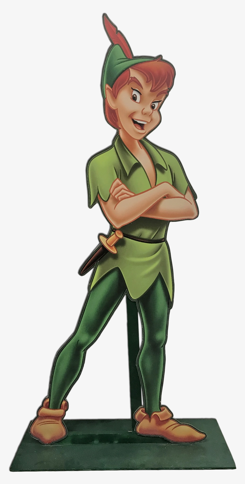 Peter Pan Standee - Disney Peter Pan Cardboard Stand-up, transparent png #736397