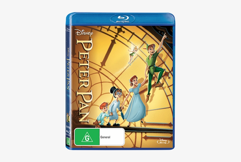 Blu-ray™ - Disney Peter Pan Diamond Edition (blu-ray/dvd), transparent png #737056