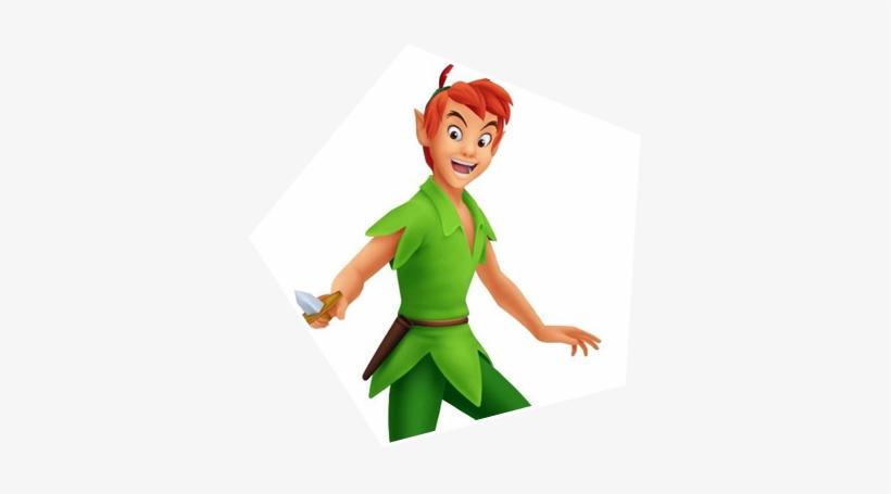 Peter Pan - Kingdom Hearts Peter Pan, transparent png #737247