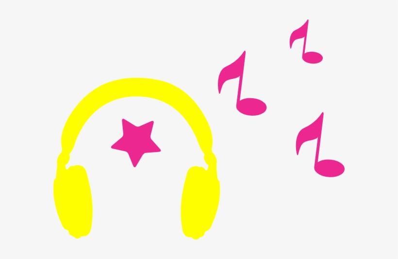 Ipod Clipart Headphone Music Note - Music Headphones Clipart, transparent png #737669