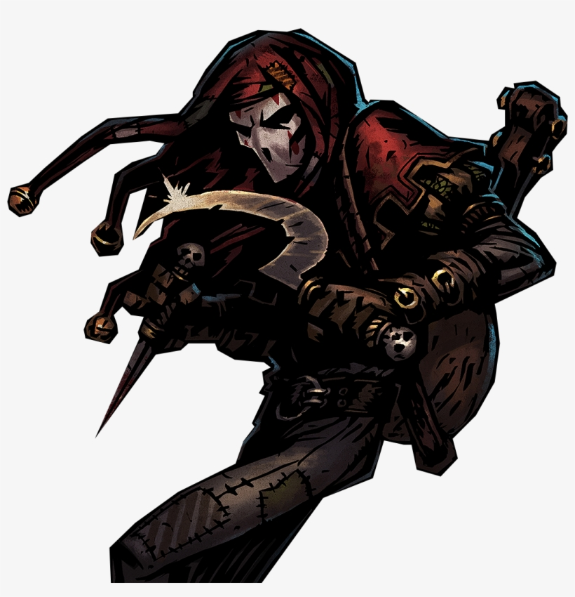 Fantasy Male, Dark Fantasy, Fantasy Rpg, Fantasy Weapons, - Darkest Dungeon Jester, transparent png #738898
