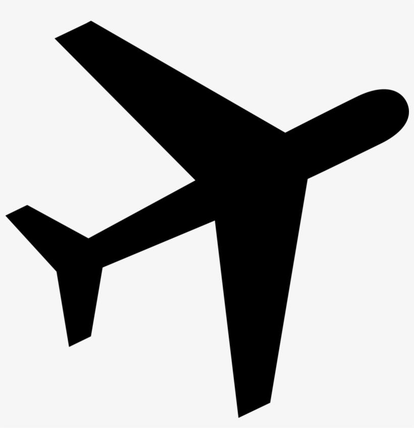 Airplane logo. Avion png clipart grey