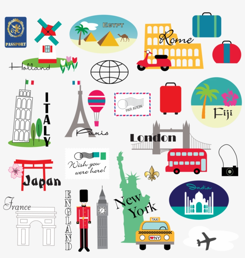 World Travel Travel Clipart Free Transparent Png Download Pngkey