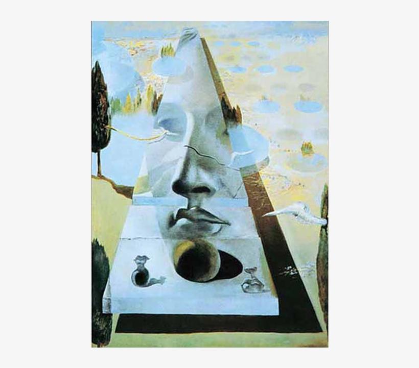 Ricordi Jigsaw Apparition Du Visage Puzzle - Salvador Dali Face Paintings, transparent png #740416