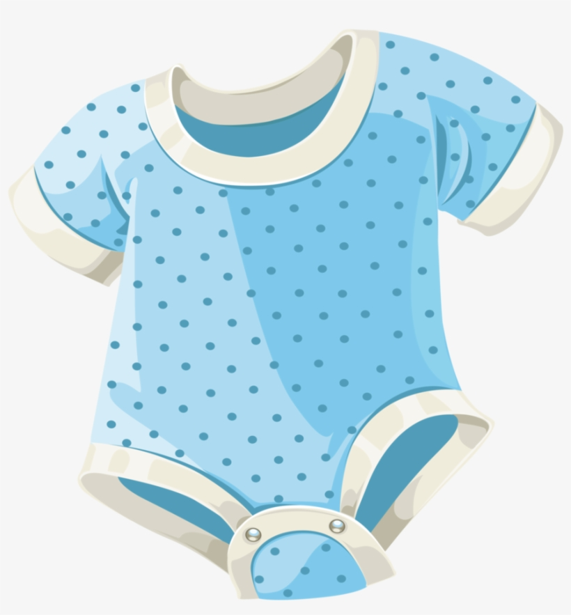 Baby Boy Clothes Png Png Royalty Free Library - Blue Baby Stuff Png, transparent png #741433