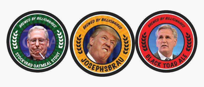 Josephsbrau, Black Toad Ale, And Stockyard Oatmeal - Trump The Antichrist? [book], transparent png #741696