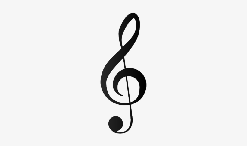 Music Notes, Note Clef Png Png Images - Treble Clef Sign, transparent png #742113