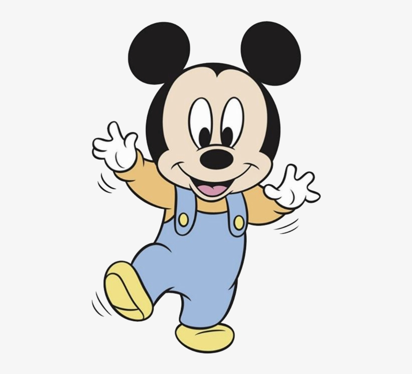 Baby Mickey Mouse Clipart Ba Mickey Clipart Free Download Latex
