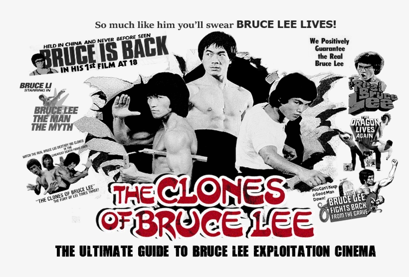 This Website Is Dedicated To Bruce Lee Exploitation - Clones Of Bruce Lee, transparent png #743430