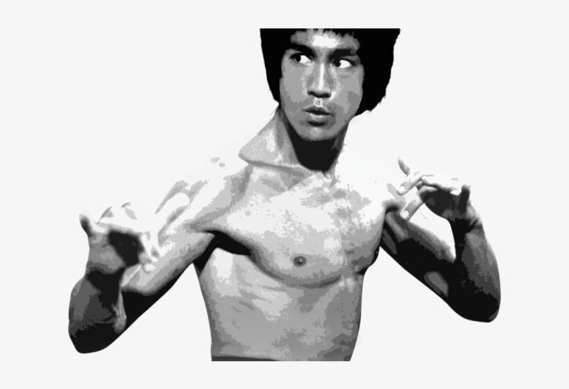 Bruce Lee Clipart Png - Deadliest Art: The Best Of The Martial Arts Films (dvd), transparent png #743503