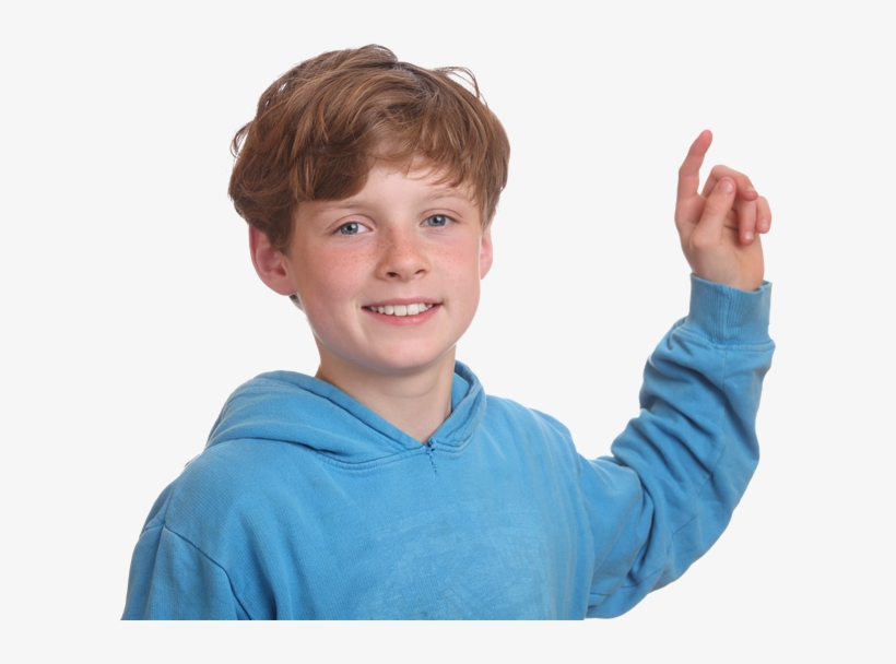 Boy Pointing Up Boy Pointing Free Transparent Png Download Pngkey