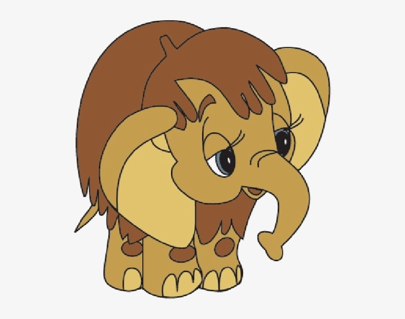Cartoon Baby Elephants Elephant Images - Brown Baby Elephant, transparent png #745067