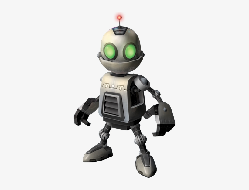 Png Image Information - Clank From Ratchet And Clank, transparent png #748562