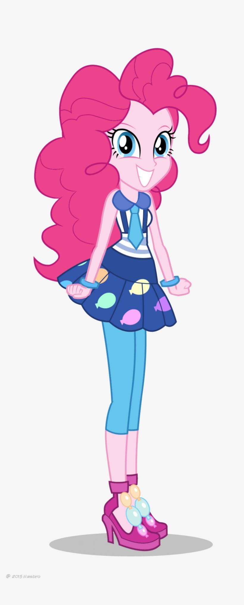 Friendship Games Pinkie Pie School Spirit Artwork - My Little Pony Pinkie Pie Equestria Girl, transparent png #748690