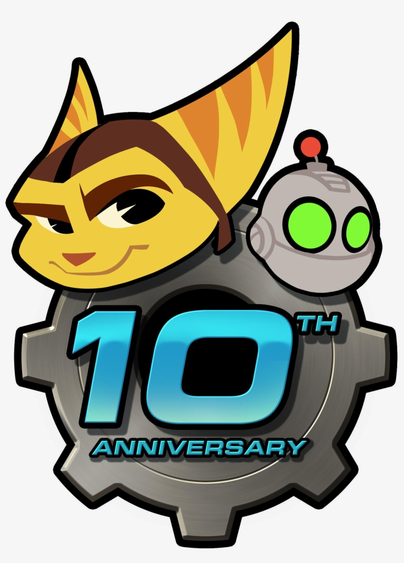 Among Those Great Surprises Comes The Ratchet & Clank - Ratchet And Clank Anniversary, transparent png #748753