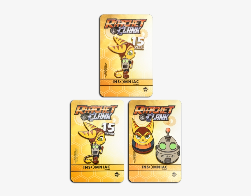 Limited Pin Set Bundle - Ratchet & Clank All 4 One [ps3 Game], transparent png #748818
