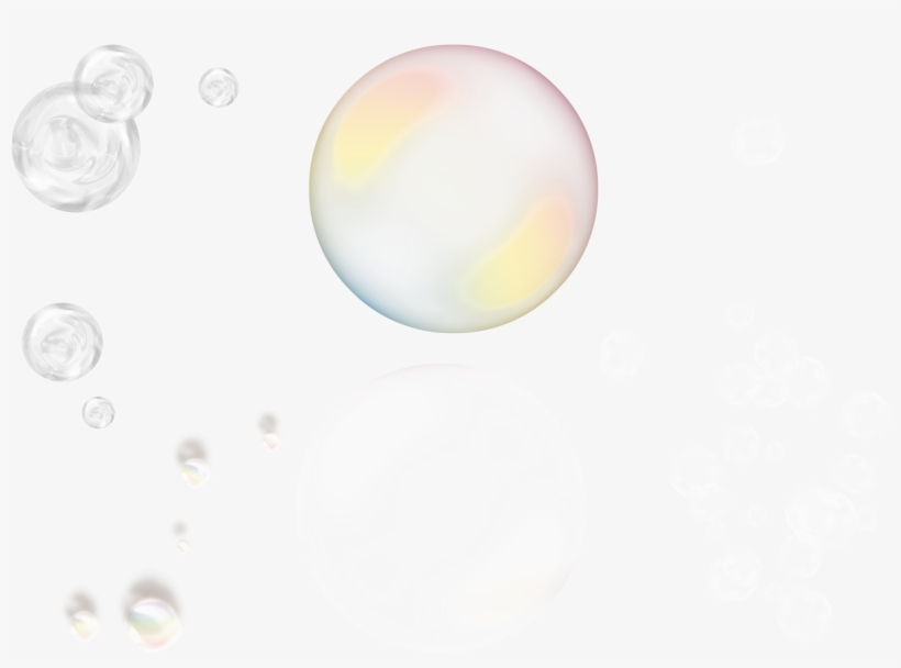 Free Bubbles Photoshop Overlays - Circle - Free Transparent PNG