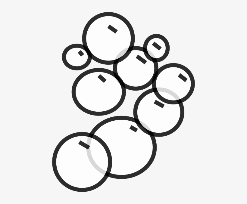 Graphic Royalty Free Download Bubbles Clip Art At Clker - Bubbles Clip Art Black And White, transparent png #749279