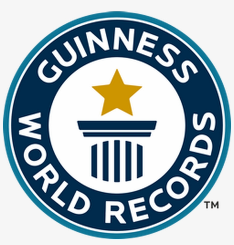 Awesome Guinness World Record Holder For The Worlds - World Record Guinness, transparent png #750490