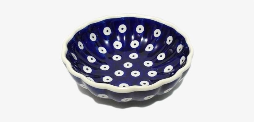 Candy Bowl In Polka Dot Pattern - Ceramic, transparent png #751164