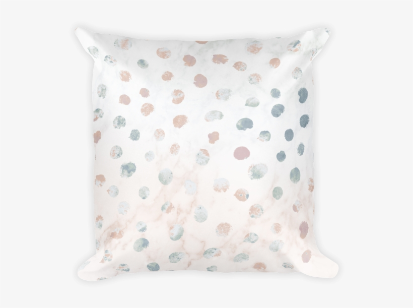 Square Pillow - Cushion, transparent png #751347
