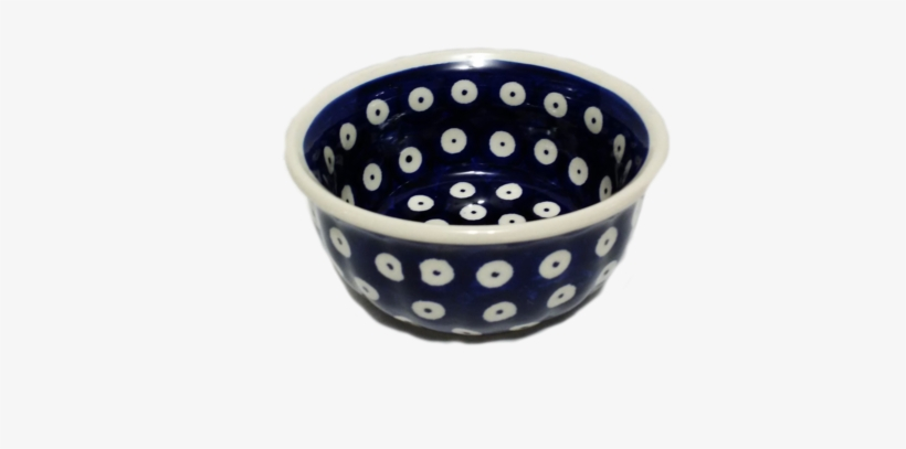 "5"" Snack Bowl In Polka Dot Pattern - Ceramic, transparent png #751711"