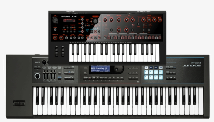 61-note Sequencer Keyboard With Huge Sound Library, - Roland Jd-xi