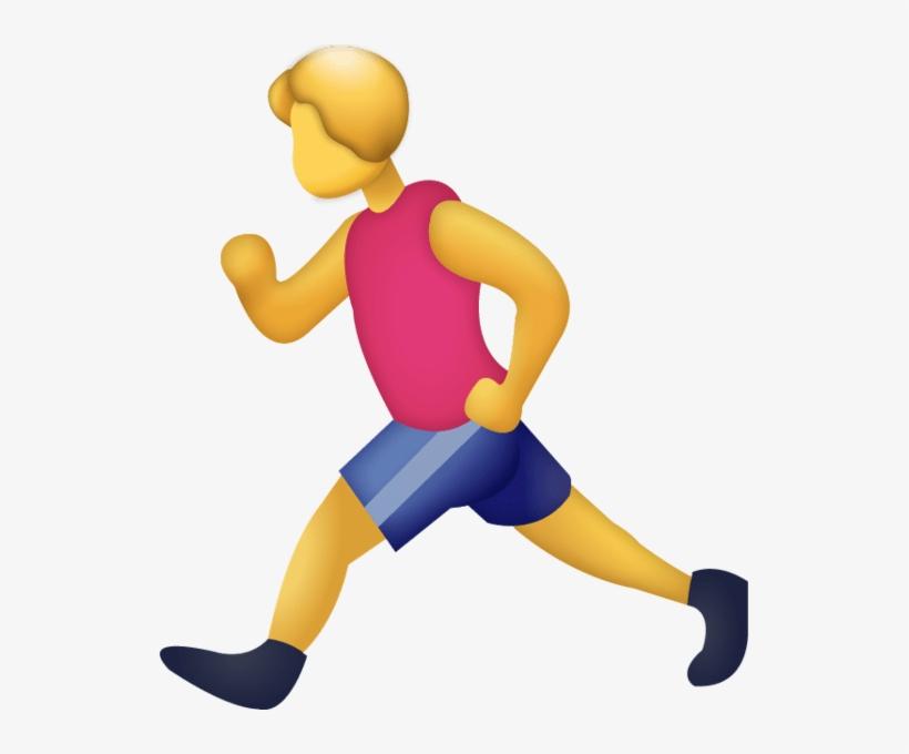 Running Man Emoji Png Free Transparent Png Download Pngkey